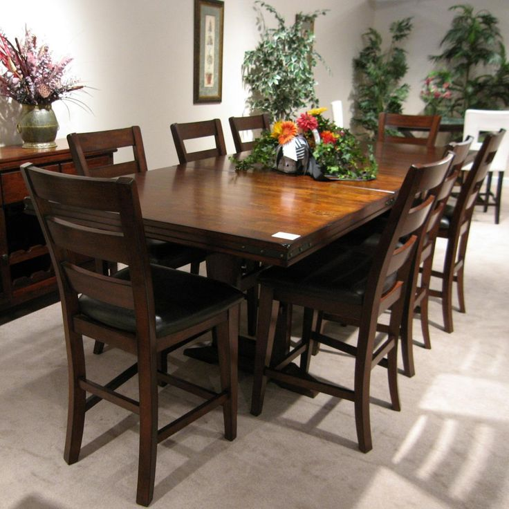 Layton Counter Table Plus 8 Stools