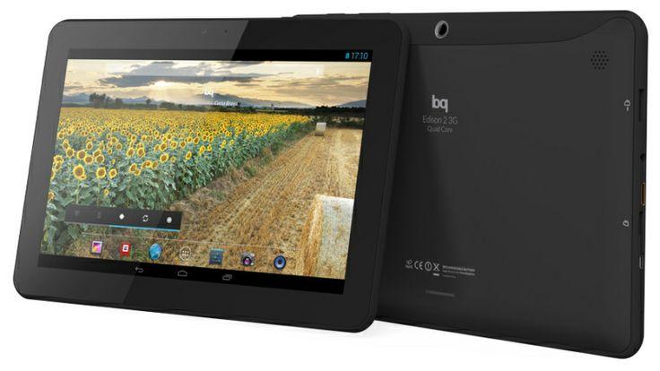 ¡Las nuevas tablets de BQ Edison 2 llevan procesadores Quad Core!  3 opciones para elegir: 16, 32 Gb y 32 Gb con conectividad 3G  http://encane.com/bq-tablets-ebooks-smartphones/tablet-android-10-bq-edison-con-y-sin-3g/p1/