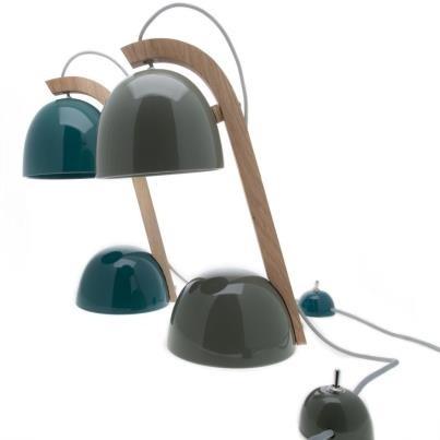 Helmet Lamp lampada da tavolo orientabile