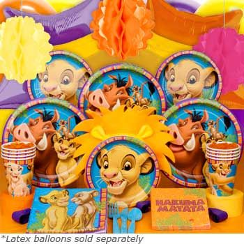 Lion King Deluxe Box - http://birthdays.momsmags.net/lion-king-birthday-party-ideas-supplies/