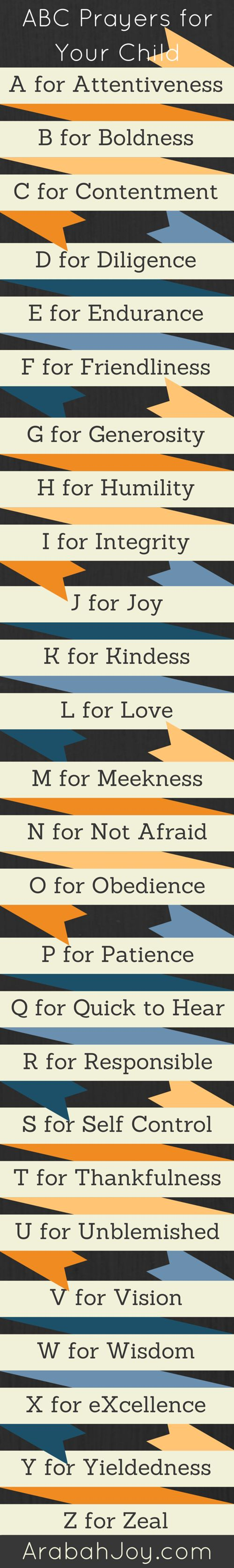 Click the link to grab these FREE printable prayer cards! http://arabahjoy.com/downloads/z-scripture-prayer-card-set/
