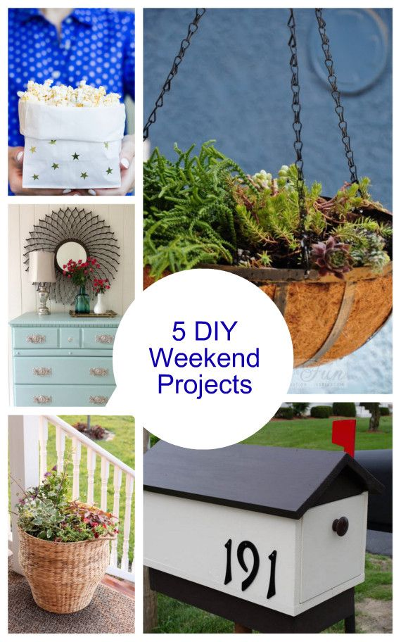 17 Best Images About Diy Long Weekend Projects On