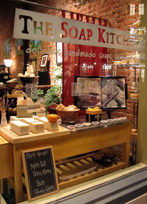 The Soap Kitchen in Pasadena.  It's the little indulgences that make all the difference in life!