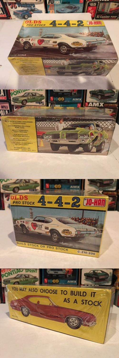 Vintage 2585: Jo-Han 1972 Olds Cutlass 442!!! Factory Sealed!! Rare! Kit#C-210! Circa 1972! -> BUY IT NOW ONLY: $489.95 on eBay!