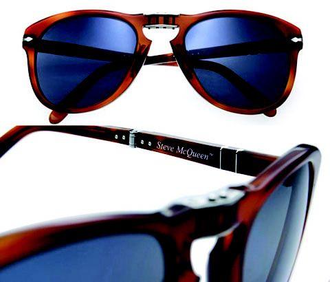 Óculos Steve McQueen by Persol. Amamos ♥ #oculos #de #sol #714 #sm #oticas #wanny #edicao #limitada