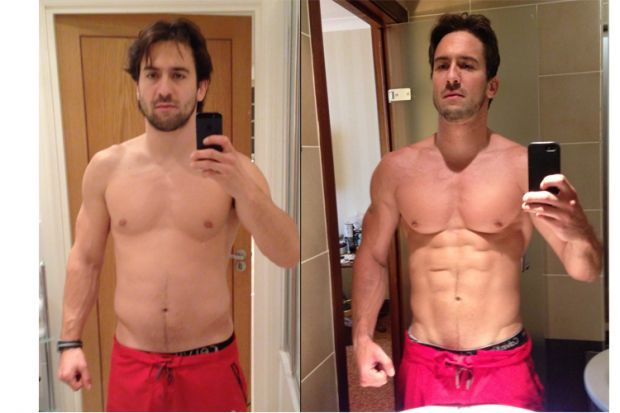 How Dracula's stunt double got in fighting shape eating mainly Nandos.