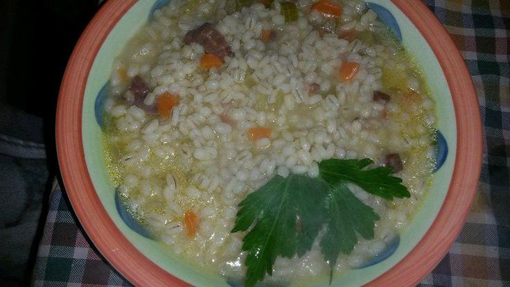 Barley Soup all'ortolana