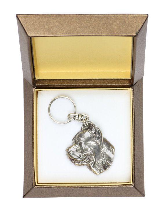 NEW Cane Corso dog keyring key holder in by ArtDogshopcenter