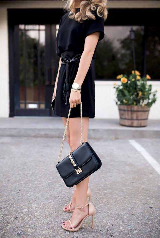 Black dress and heels nordstrom