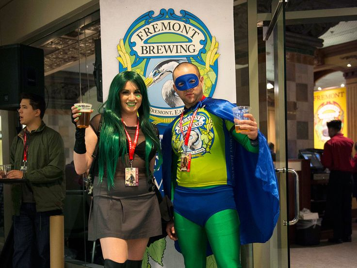 Comic Cons Are Quietly Becoming Craft Beer Festivals | Convention organizers ReedPop turned to Seattle's craft beer culture to enhance attendees experience at this year's Emerald City Comic Con.