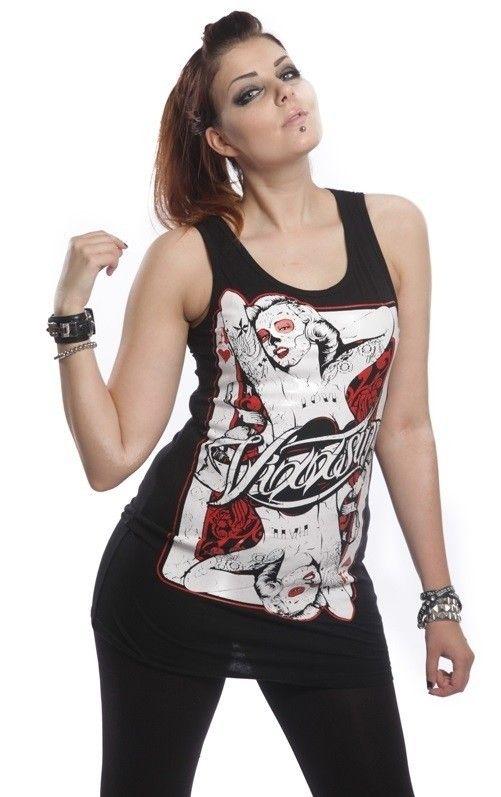 Tunika - MONROECARD TOP | KOBIETY \ Sukienki | Rockzone.pl - rockowy sklep internetowy