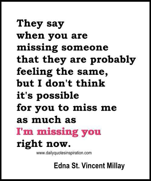 Funny Love Quotes For Him Pictures To Pin On Pinterest: Romantic Missing You Quotes Sayings