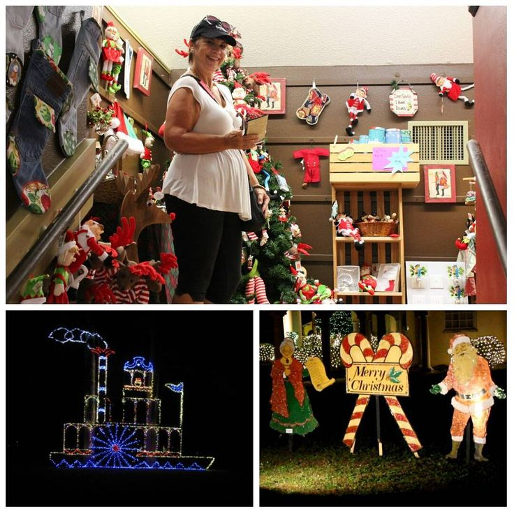 Festival of Lights at Stephen Foster State Park Florida #camping #christmas #florida