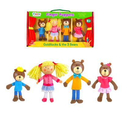 Goldilocks - Finger Puppets