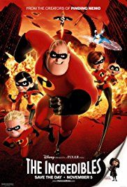 The Incredibles Poster Kid Movies The Incredibles 2004 Pixar Movies