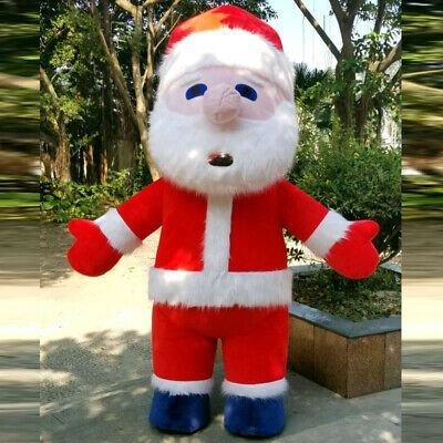 (eBay link) Inflatable Santa Claus Mascot Costume Suits Cosplay Party Game Dress Christmas @  #clothing #shoes #accessories #fashion