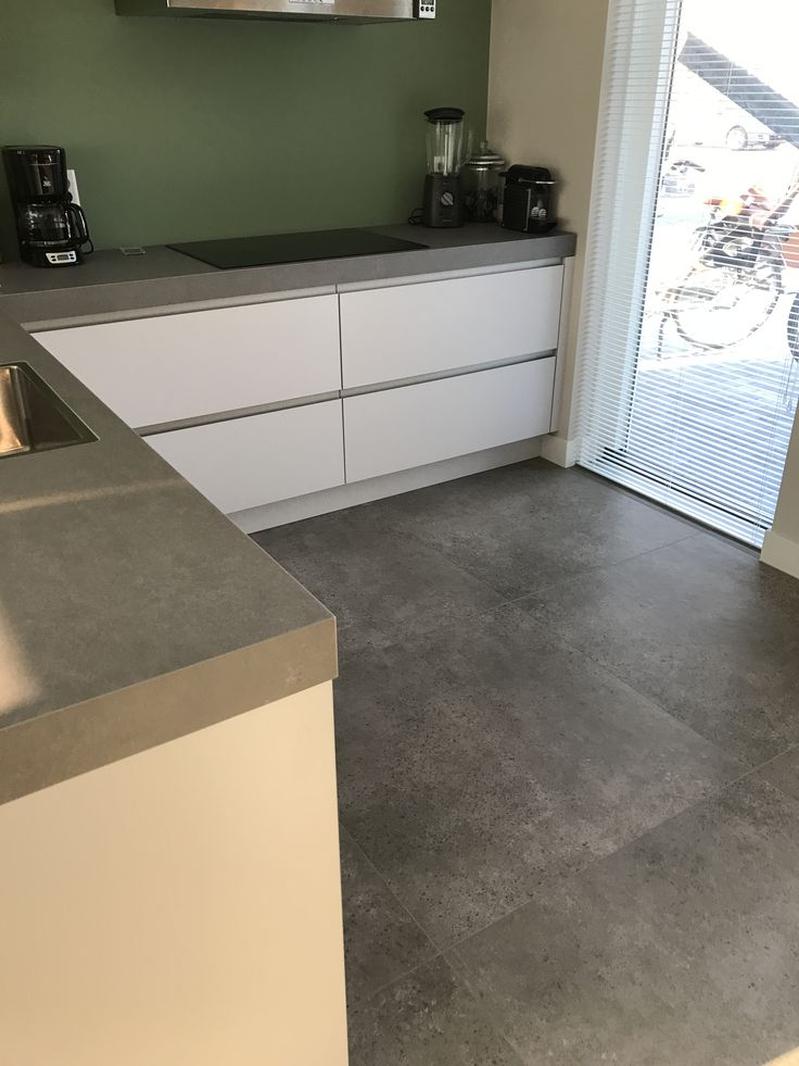 Vloer tegels keuken