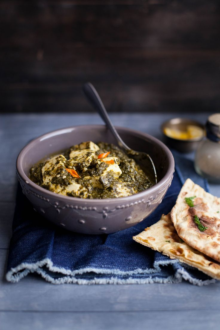 ... Spinach & Indian Cheese | Foreign Tastes | Pinterest | Indian, Spinach