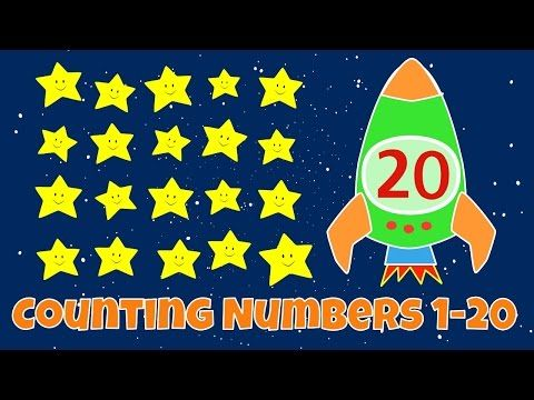 Counting Down From 10 | Countdown to blastoff| Counting Backwards Video For Kids - YouTube