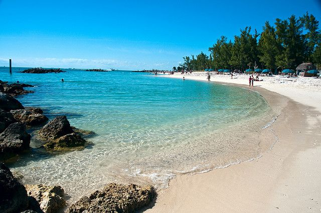 Fort Zachary Taylor Beach, Key West    A beautiful day at the nicest beach in Key West, Florida.