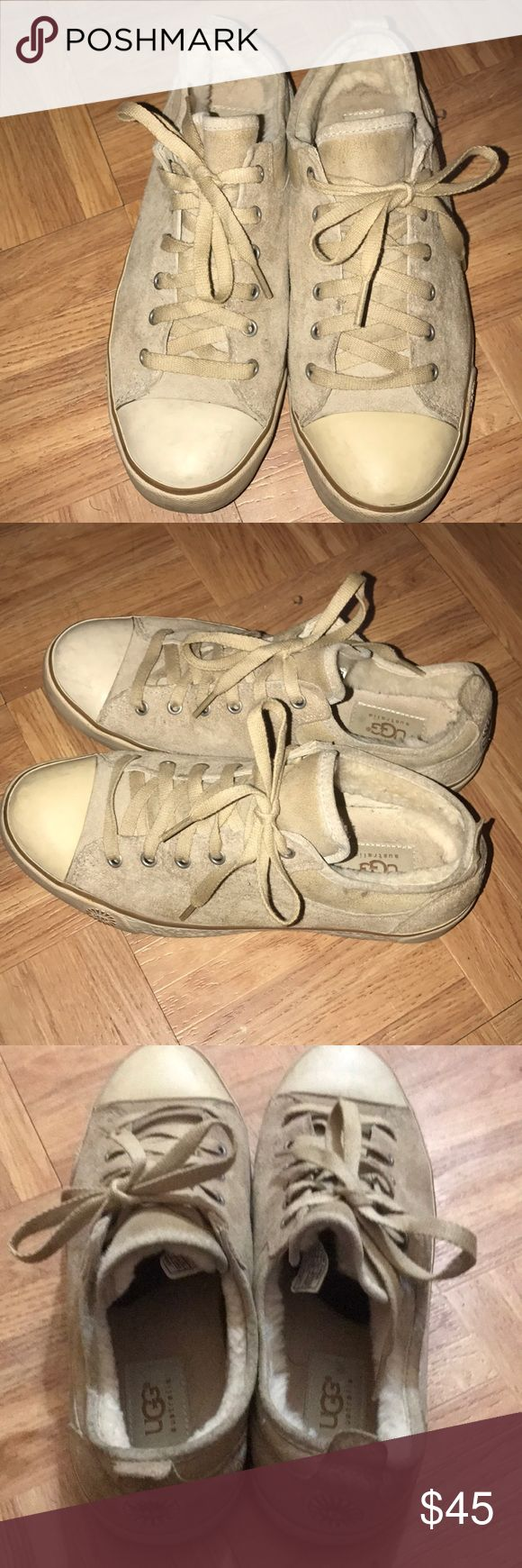 Ugg sneakers size 8 women Preloved Ugg sneakers. Does not include box. Still in great condition. UGG Shoes Sneakers