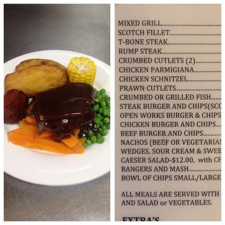 Monday Dinner Special. Roast Beef in Gravy  Veg-$12 or Roast Beef & gravy roll  chips-$10. Phone ahead-63721313. Eat in or takeaway.