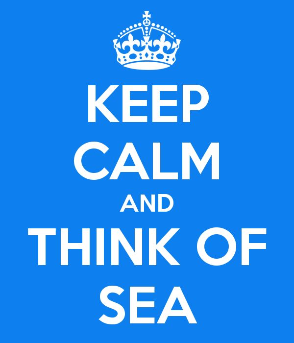 Keep Calm and Think of SEA...