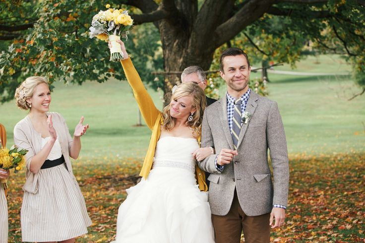YEAH !!! - Fall Wedding at Sycamore Farm Bloomington captured by Todd Pellowe