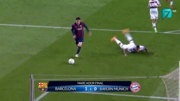 Lionel Messi lleva 10 goles en la Champions League. (Twitter)