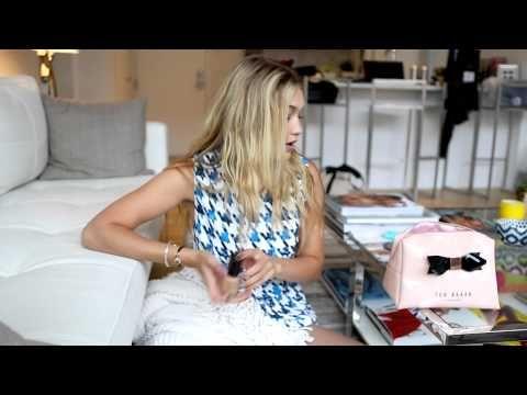 Inside Gigi Hadid's Makeup Bag - YouTube
