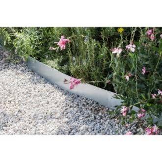 Bordure A Planter Metal Acier Galvanise Gris H 12 5 X L 118 Cm Bordure Jardin Bordure Jardin Metal Bordure Paysage