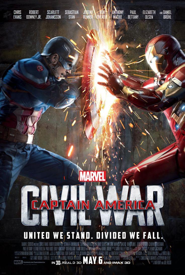 Capitan America Civil War 2016 Peliculas De Comics Peliculas De Superheroes Capitan America Civil War
