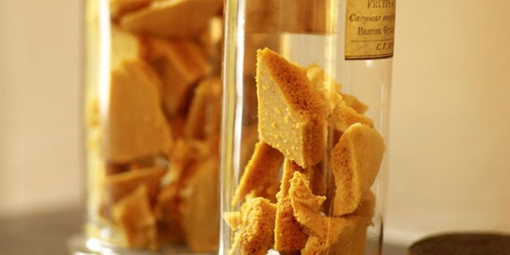 Adam Byatt's honeycomb recipe can be used to add sweetness and texture to lots of different desserts