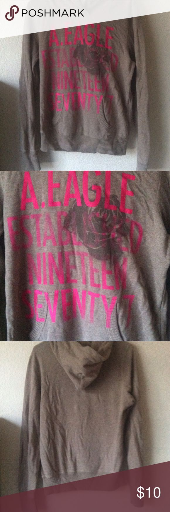 American eagle sweatshirt Good condition worn many times American Eagle Outfitters Jackets & Coats