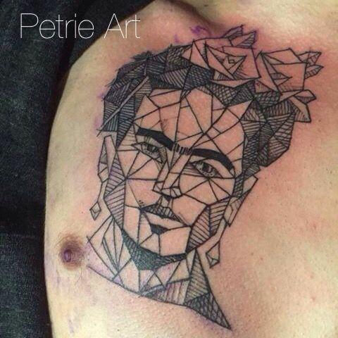 Frida Kahlo tattoo  Petrie Art Tattoo Helsinki