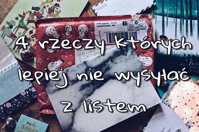 Pen Pals Community Poland: 4 rzeczy, których lepiej nie wysyłać z listem