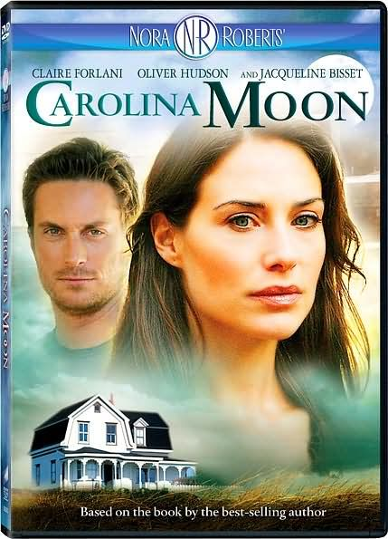 "Claire Forlani in Nora Roberts' ""Carolina Moon"".  A woman who has psychic visions returns to her hometown to exorcise her demons, and finds both danger and love."