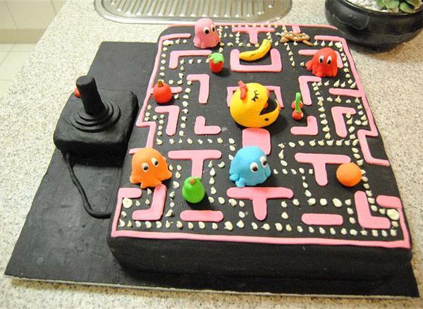 ms. pac man cake