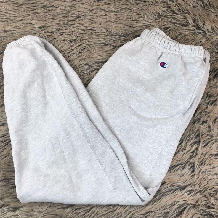 Vintage Champion Reverse Weave Sweatpants Grey XL cotton Blend Men's | Clothing, Shoes & Accessories, Vintage, Men's Vintage Clothing | eBay!
