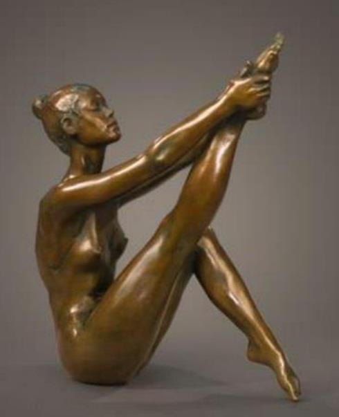 Beautiful bronze statue