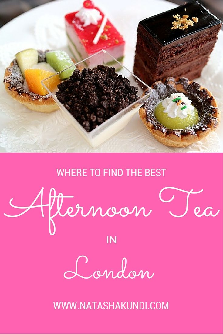 Afternoon Tea in London: sketch Mayfair Regents Street