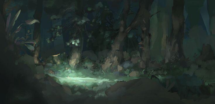 FJELL - Animation Short, Samuel Klughertz on ArtStation at https://www.artstation.com/artwork/LZJBR