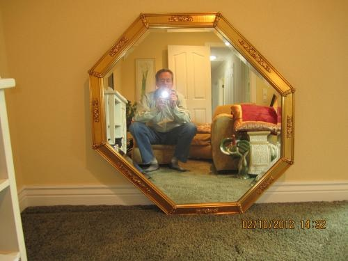 """Gorgeous, 40"""" x 40"""" mirrors. Multiple use and applications. $50"""