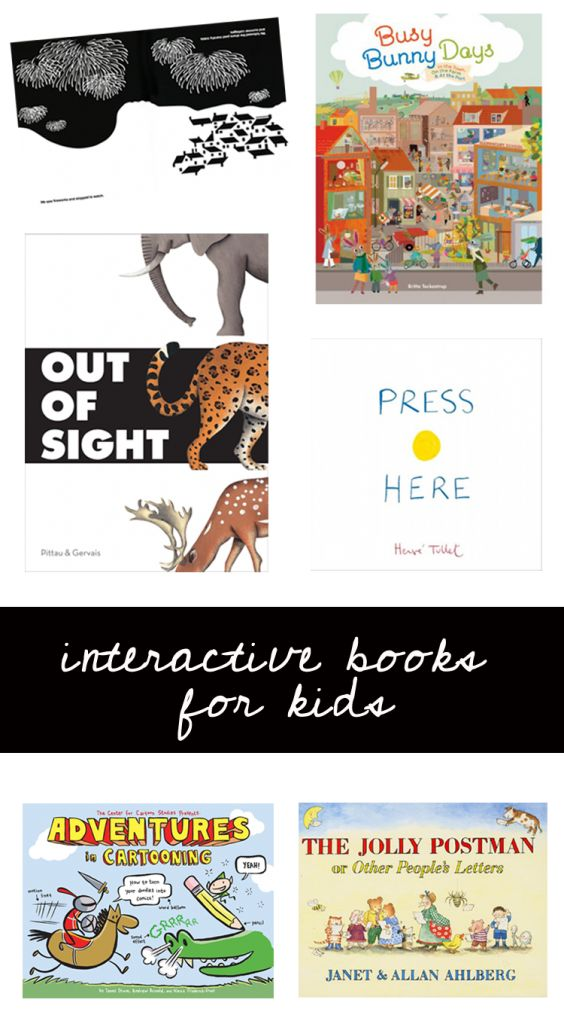 Interactive Books that require all your senses.