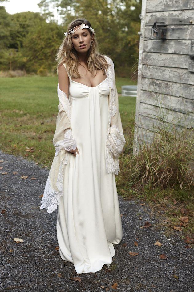 news fashion savannah miller boho wedding dress