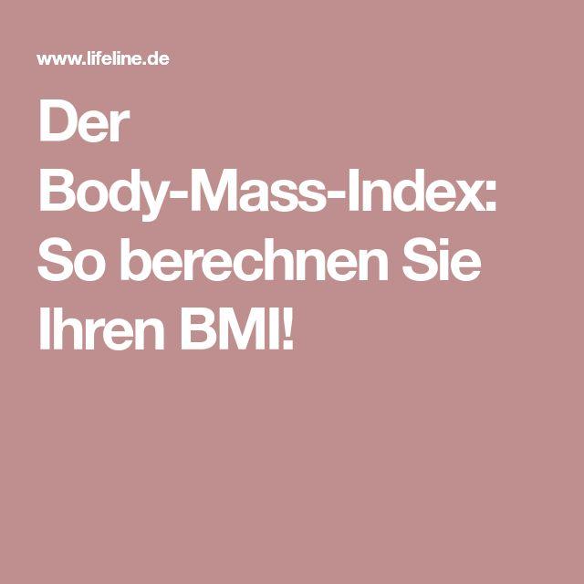 Der Body-Mass-Index: So berechnen Sie Ihren BMI!