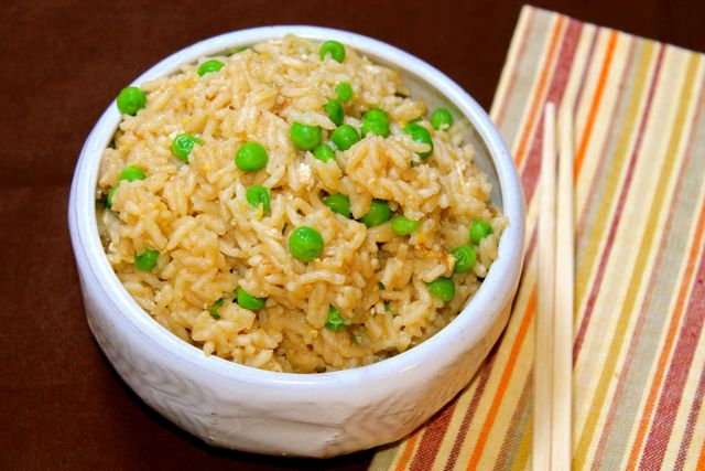Pressure Cooker Fried Rice is ready in 10 minutes. Have a delicious, satisfying side dish tonight! Forget take out when you can make it better and faster!