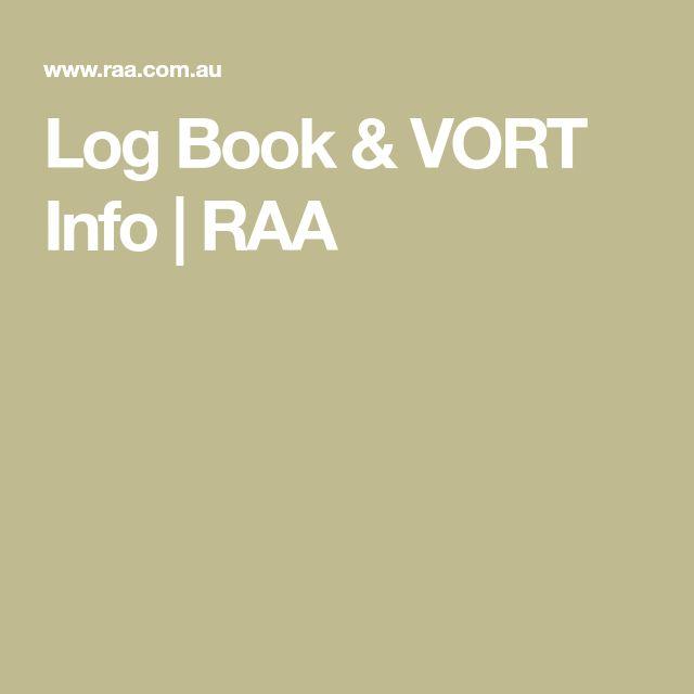 Log Book & VORT Info | RAA