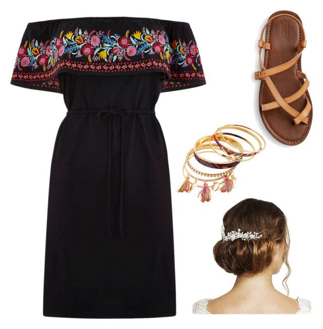 """""""Cinco De Mayo Outfit"""" by melina-velasco on Polyvore featuring Oasis and Jon Richard"""