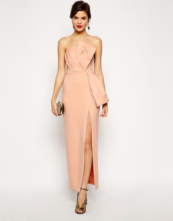 Red Carpet Origami Bow Maxi Dress Style Envy Pinterest
